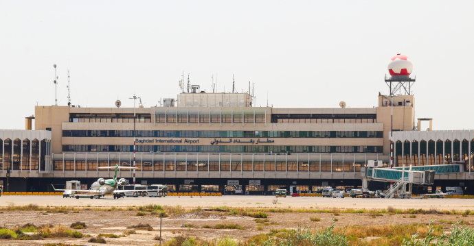 Baghdad International Airport is Iraq's largest international airport.